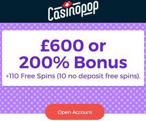 Casinopop no deposit bonus