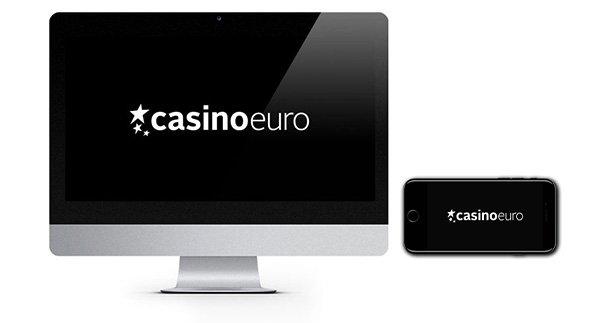 CasinoEuro 100% Match Bonus