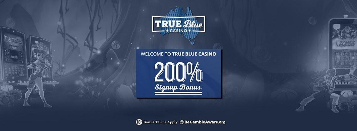 True Blue Casino free spins