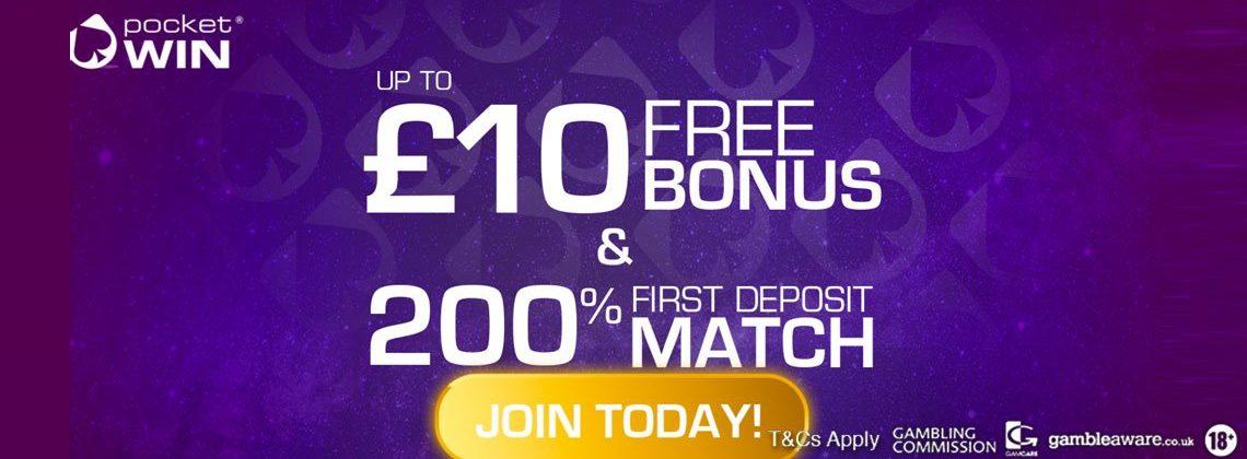 pocket win no deposit bonus