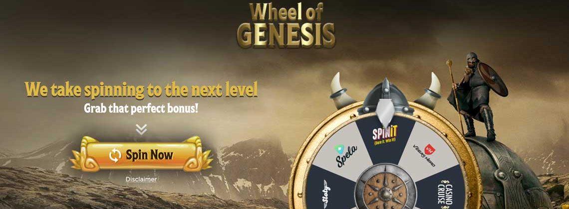 wheel of genesis free spins