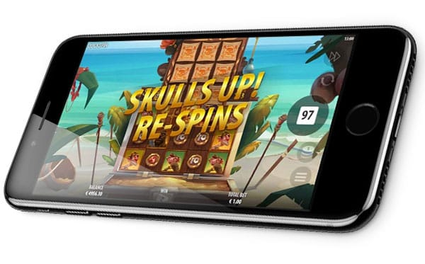 Skulls UP! NEW Quickspin mobile play