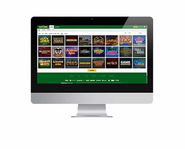 Piggy Bang Casino desktop
