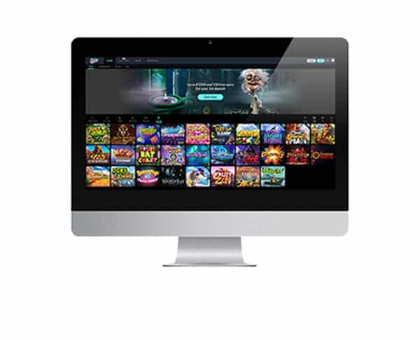 Spin Madness Casino desktop