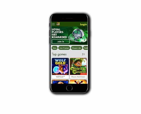 7Reels Casino mobile