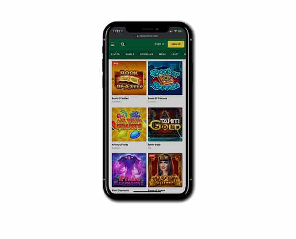 Mason Slots Mobile Casino