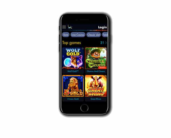 Winward Casino Mobile