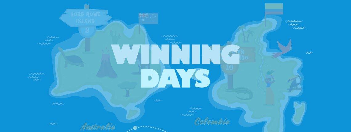 winning days casino