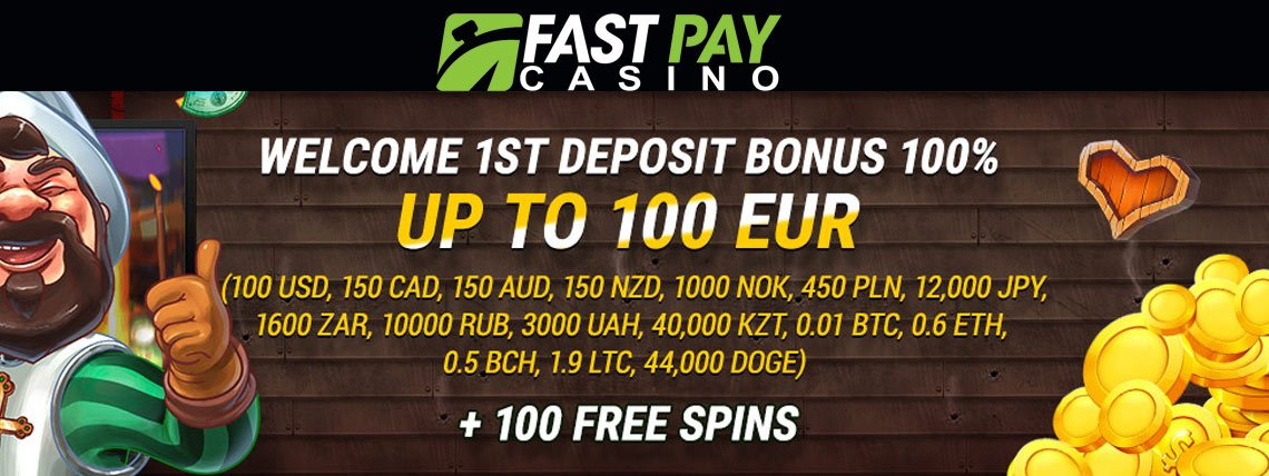 fastpay free spins