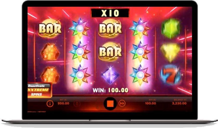 starburst xxxtreme big win